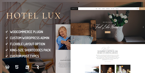 Hotel Lux – Resort & Hotel Tema de WordPress – Plantillas ...