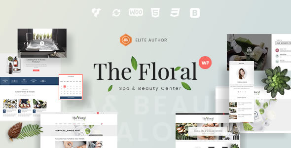 Floral – Spa y belleza Responsive WordPress Theme – Plantillas ...