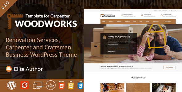 Wood Works – Servicios de renovación, Carpenter and Craftsman ...