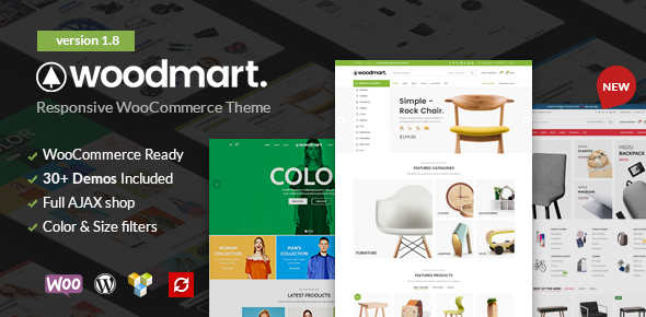 WoodMart – Responsive Tema WooCommerce WordPress – Plantillas ...