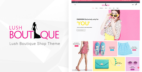 Lush – Boutique Tema de WordPress – Plantillas TutorialMonsters