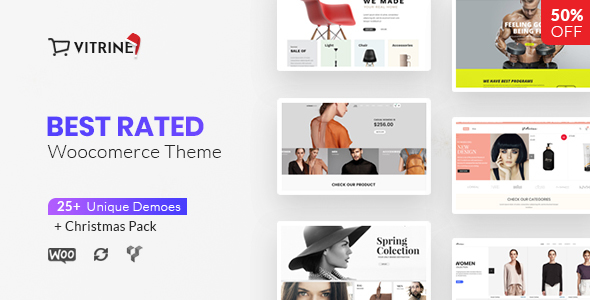 Vitrine – WooCommerce Tema de WordPress – Plantillas TutorialMonsters